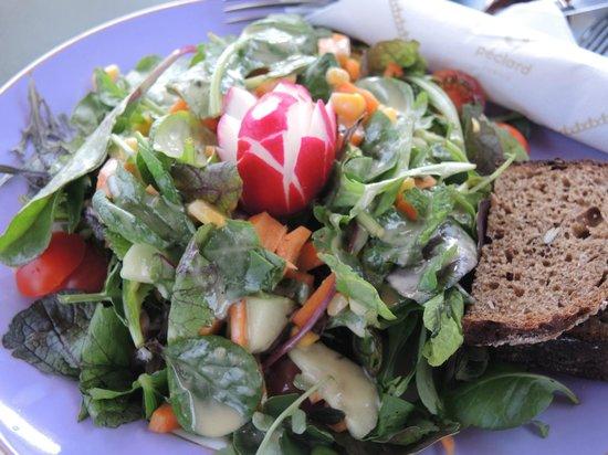 Cafe Schober: Summer Salad with Mustard Vinaigrette