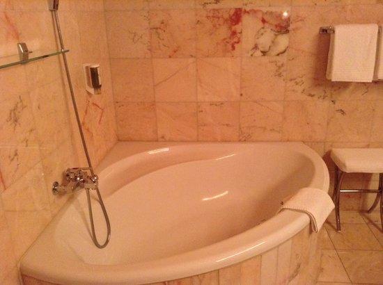 Schlosshotel Chaste: Salle de bains no 1