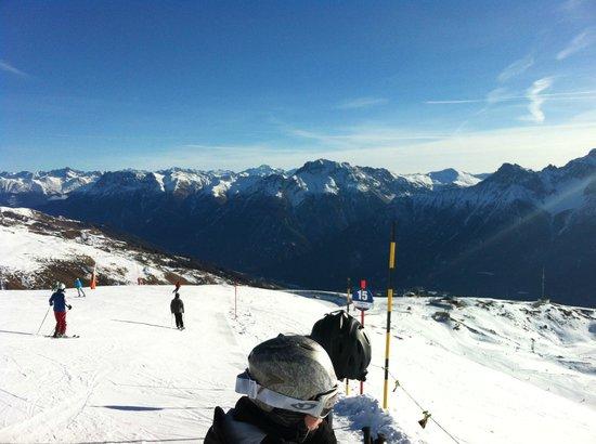 Schlosshotel Chaste: Sur les pistes de ski