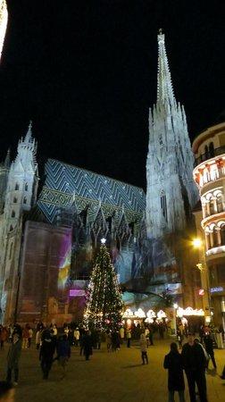 Pension Aviano: Stephansdom im Advent
