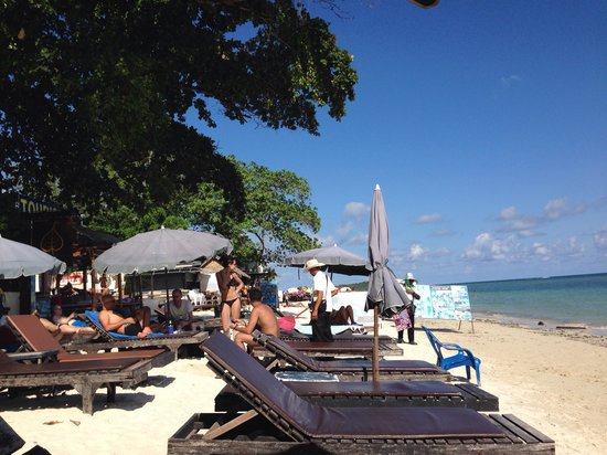 Chaweng Garden Beach Resort : The beach