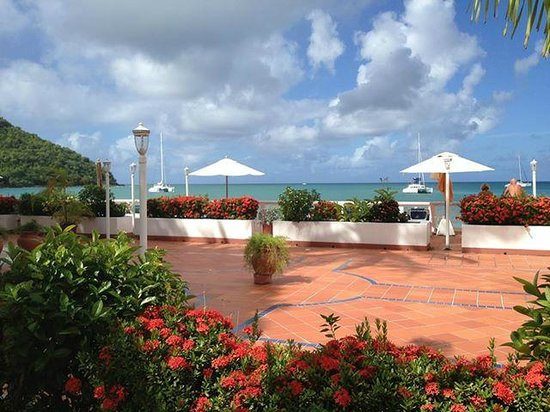 St. Lucian by Rex Resorts: En fin bild som är lika inbjudande som hotellet!