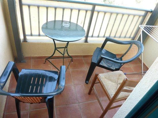 Asterias Village Resort : Balcony