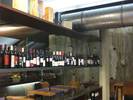 Hotel Lux Alpinae: Weinauswahl