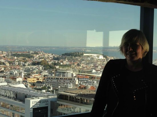 Dom Pedro Lisboa : Nice view over the city