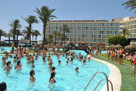 Evenia Zoraida Garden: aerobic the hte swimming pool :-)