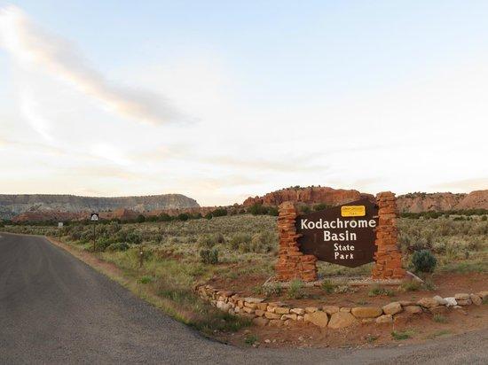 Kodachrome Basin State Park: Kodachrome SP