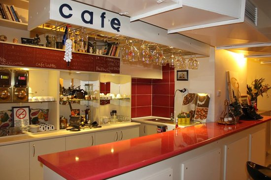 Guzel Izmir Oteli: cafe