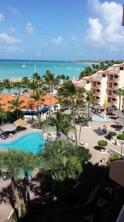 Playa Linda Beach Resort: Great location