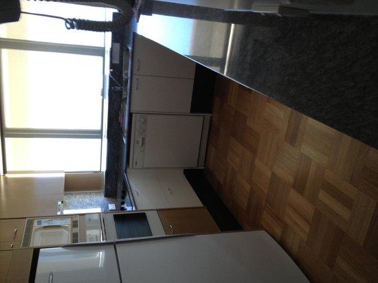 Talisman Apartments: kitchen