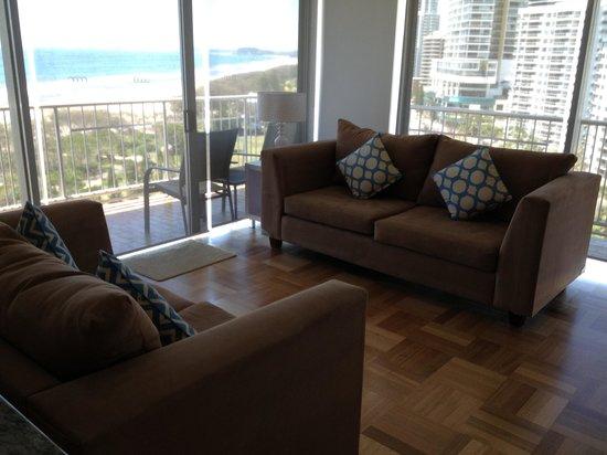 Talisman Apartments: living area