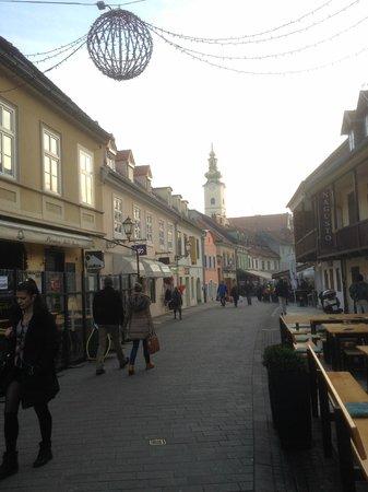Tkalčićeva: Pedestrianised street with lots of local shops, cafe & restaurants