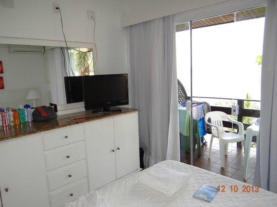 Bombinhas Tourist Apart Hotel : Habitación Apart 126