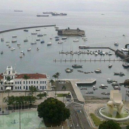 Colonial Chile : Vista da Baía de Todos os Santos