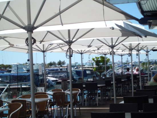 Dolphin Quay: Alfresco Seating for Restaurants & Cafes