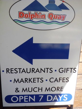 Dolphin Quay: Directional Signage