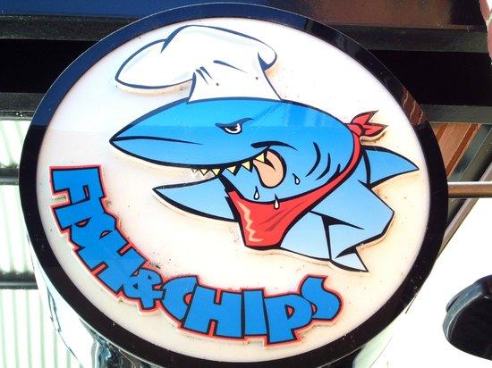 Dolphin Quay: Sharky's Logo