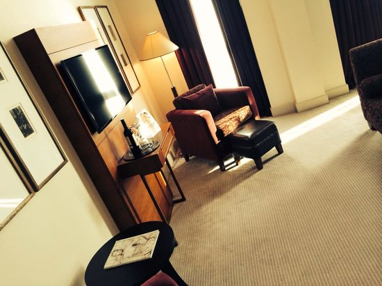 Malmaison Hotel : Double deluxe room smart tv free sky sports