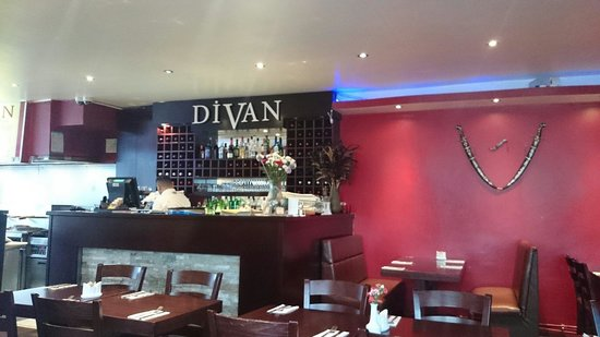 restaurants divan in barnet with cuisine other european