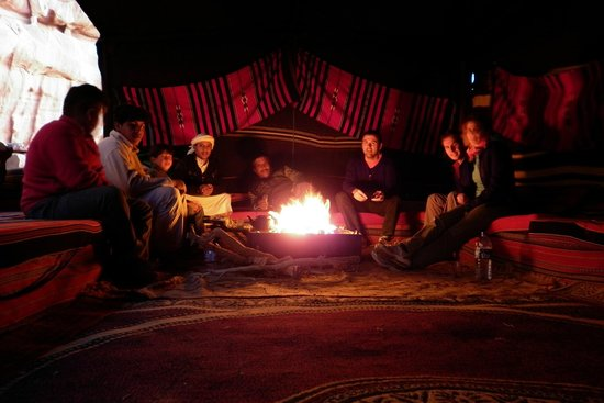 Wild Wadi Rum Camp: well deserved rest after a day of sightseeing