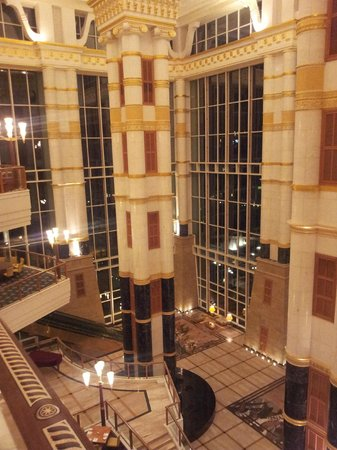 The Empire Hotel & Country Club: Main building atrium