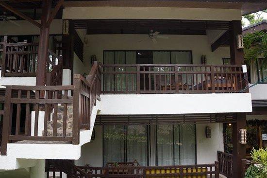 The Strand: room #5 veranda