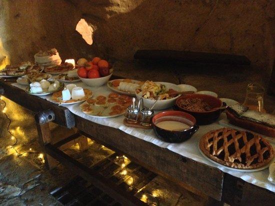Sextantio Le Grotte della Civita: colazione