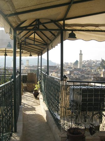 Riad La Bague de Kenza : roof top