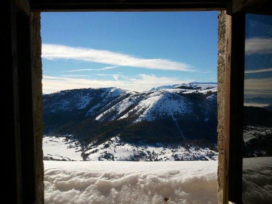 Sextantio Albergo Diffuso : panorama da una delle due finestre