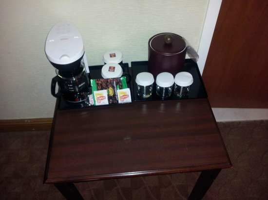 Clarion Hotel Park Avenue : Coffee Set