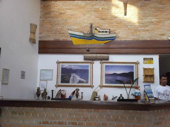 Pousada Porto Mare: Hall de entrada