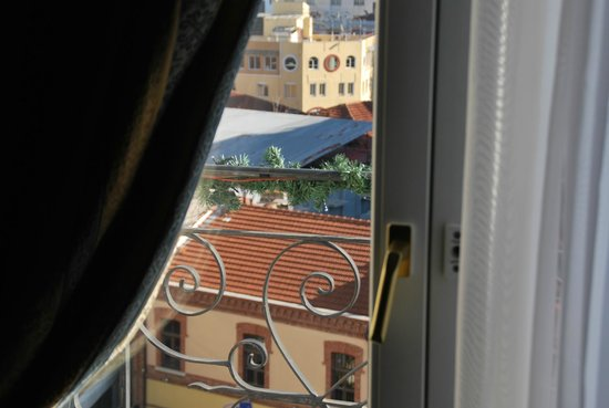Mediterranean Palace: Balcony in my room