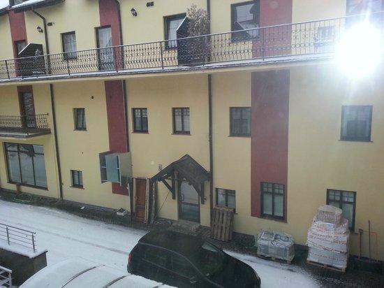 Hotel Sasanka: Piękny widok z balkoniku pokojowego na Karkonosze :)