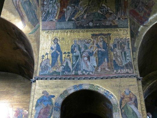 Basilique Saint-Marc : Zoom of column