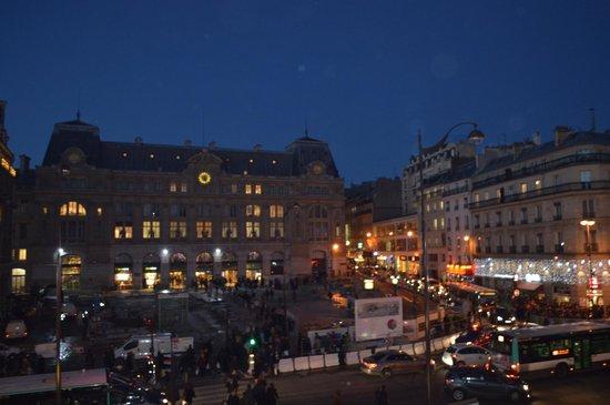 Londres et New York Hotel : panorama dalla camera (place de havre)