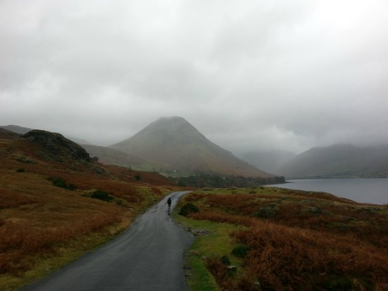 The Strands Hotel: Wast Water  a mile or so up the road