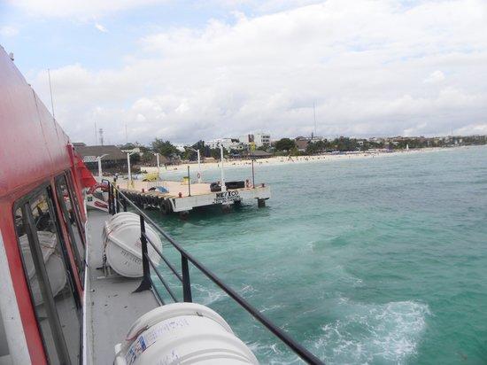 UltraMar Ferry : in the boat