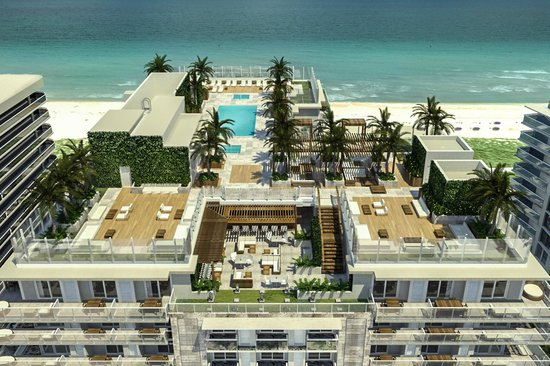 Grand Beach Hotel Surfside Rooftop Pool Skybar