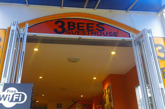 3 Bees Guesthouse: entrance