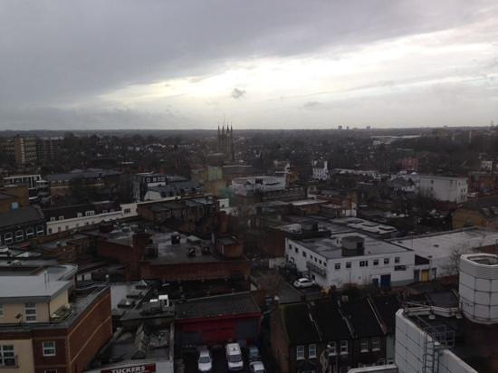 Holiday Inn Express London Croydon: view from 9th floor.