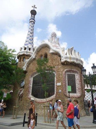 Parc Güell : arquitectura
