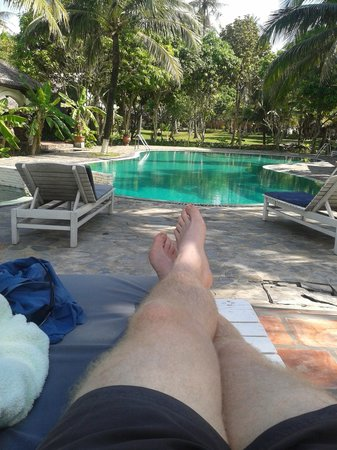 Tropicana Resort Phu Quoc: poolside