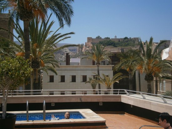 Hotel Catedral Almeria: on the roof