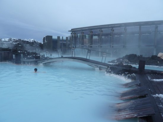 Blue Lagoon Iceland: The Blue lagoon - came out 10 years younger:)