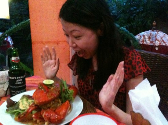 Yogi's Paradise and Grill : Chilli Crab
