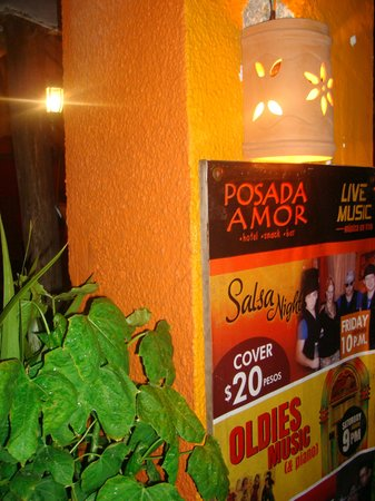 Posada Amor: sign