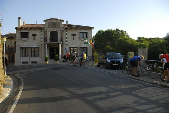 La Posada Del Conde: aan de weg maar heel rustig