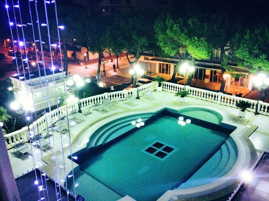 Grand Hotel Des Bains: view from my room