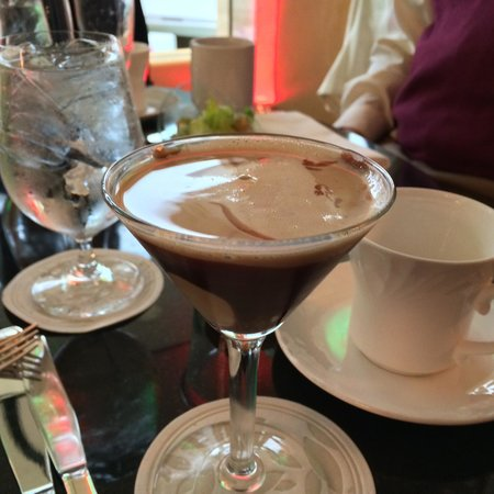 Quattro at Four Seasons Houston: Chocolate Martini.