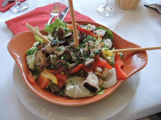 Giusi's Ristorante Pizzeria : Octopus Salad